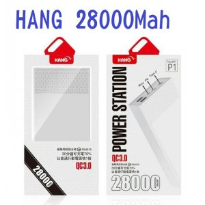 HANG POWER P1 28000MAH QC3.0 行動電源 三輸入/三輸出